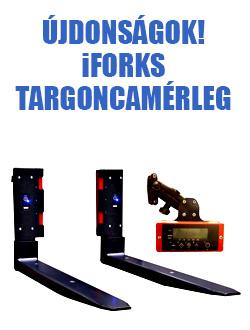 iForks vezeték nélküli mérleges villa  targoncákhoz